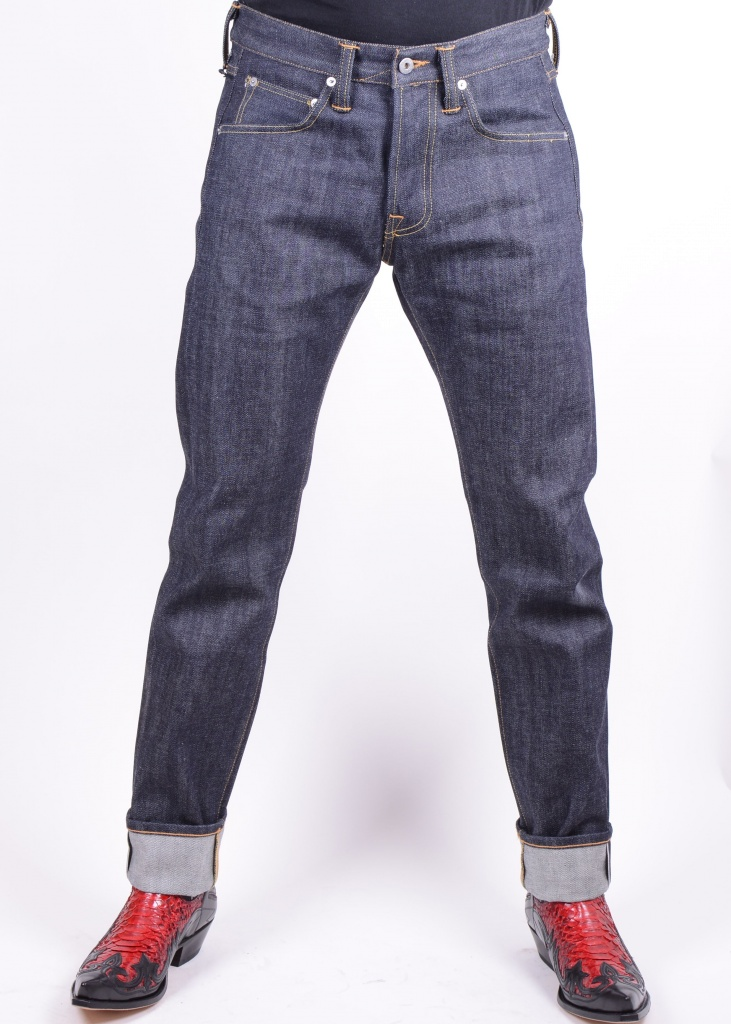 9647e246 SKO UNO - ED-55 14 oz Red Listed Selvedge - Unwashed