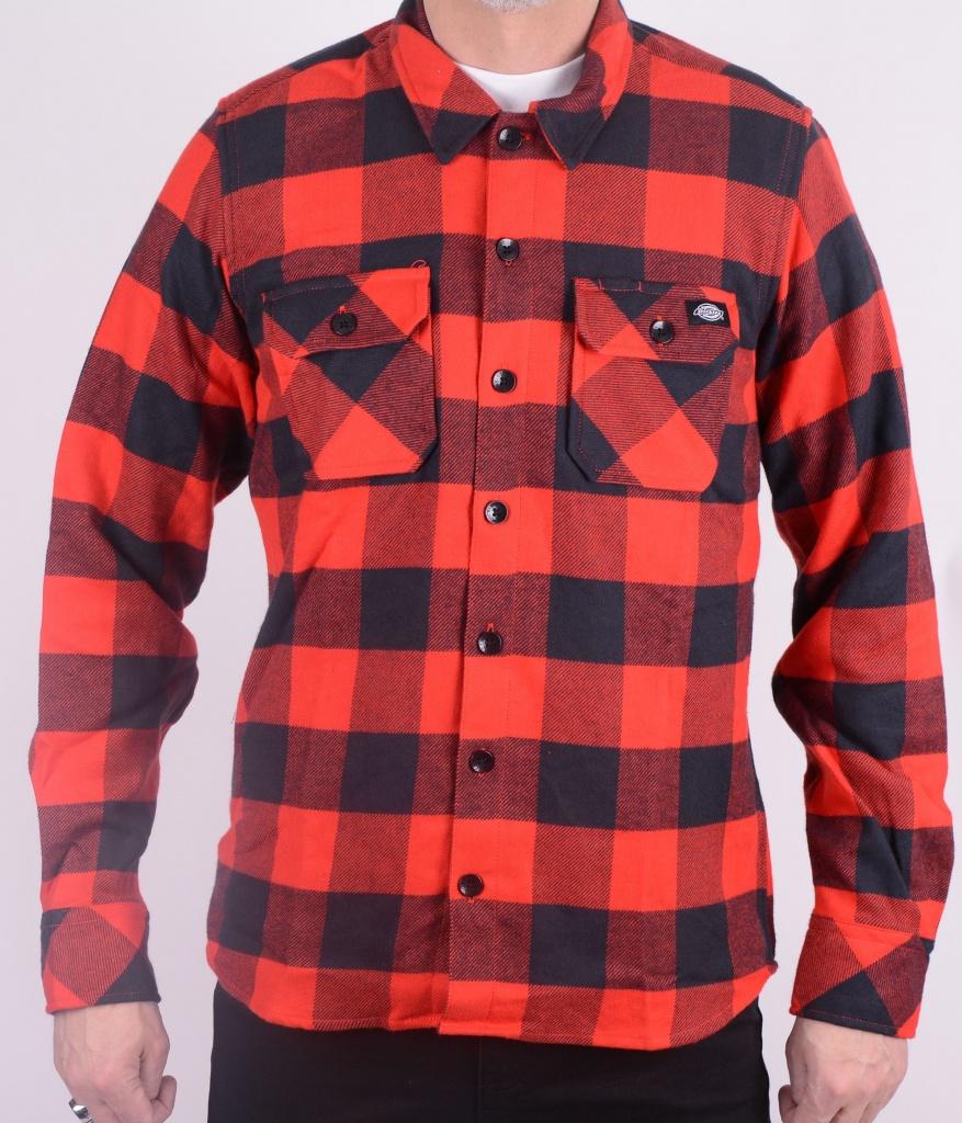 Sacramento Shirt red/black