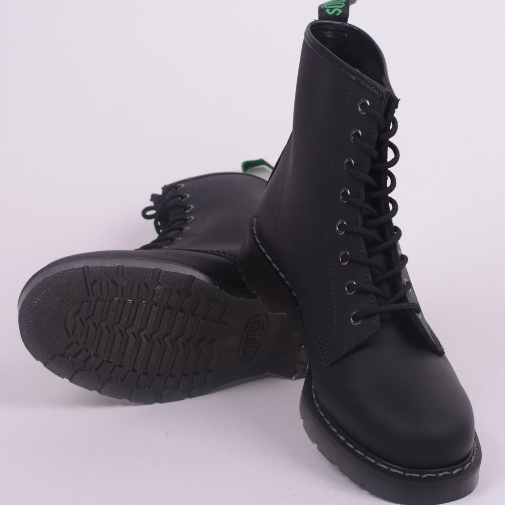 2d86baa4408b 8 Eye Derby Boot Black Greasy 551