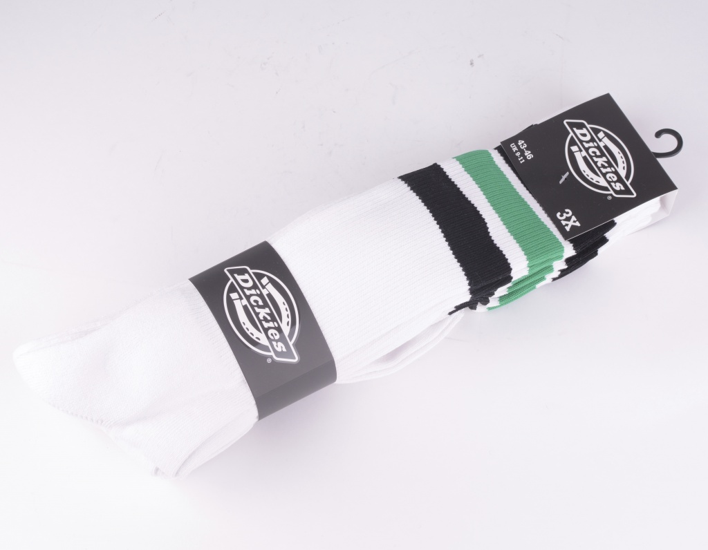 Atlantic City Socks White/Black 3-pack