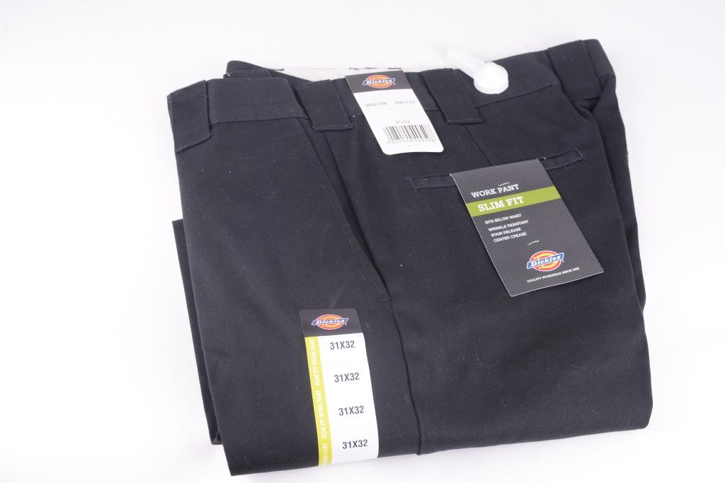 Slim Fit Work 872 Pant Black
