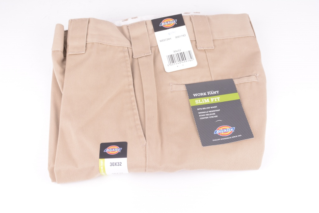 Slim Fit Work Pant Khaki