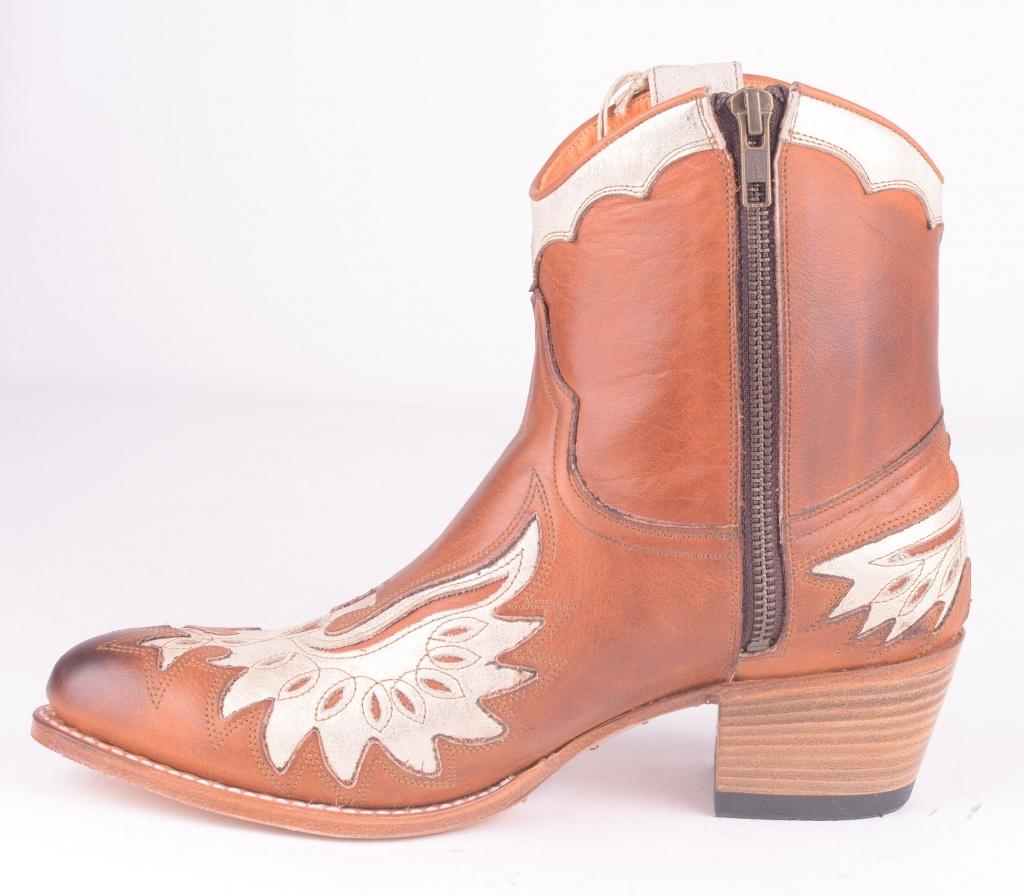 11525 Salv Cuoio/Mar Mel Zip Boot