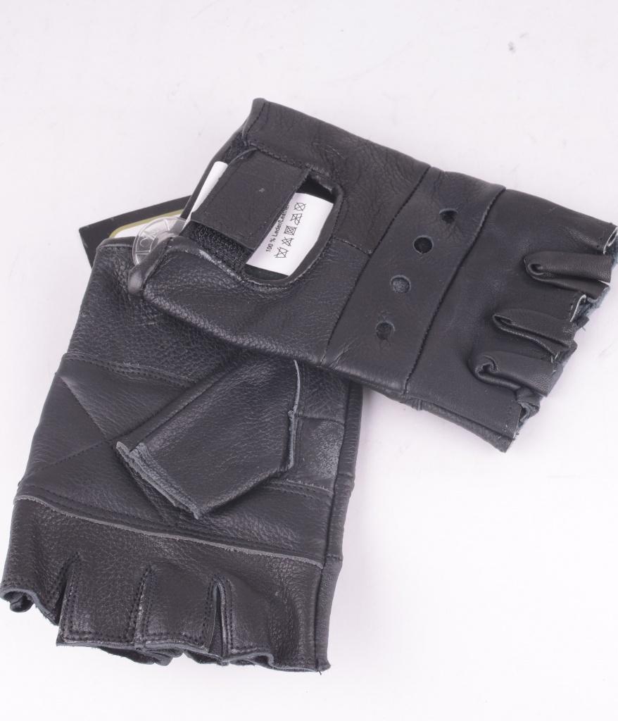Gloves Fingerless Black
