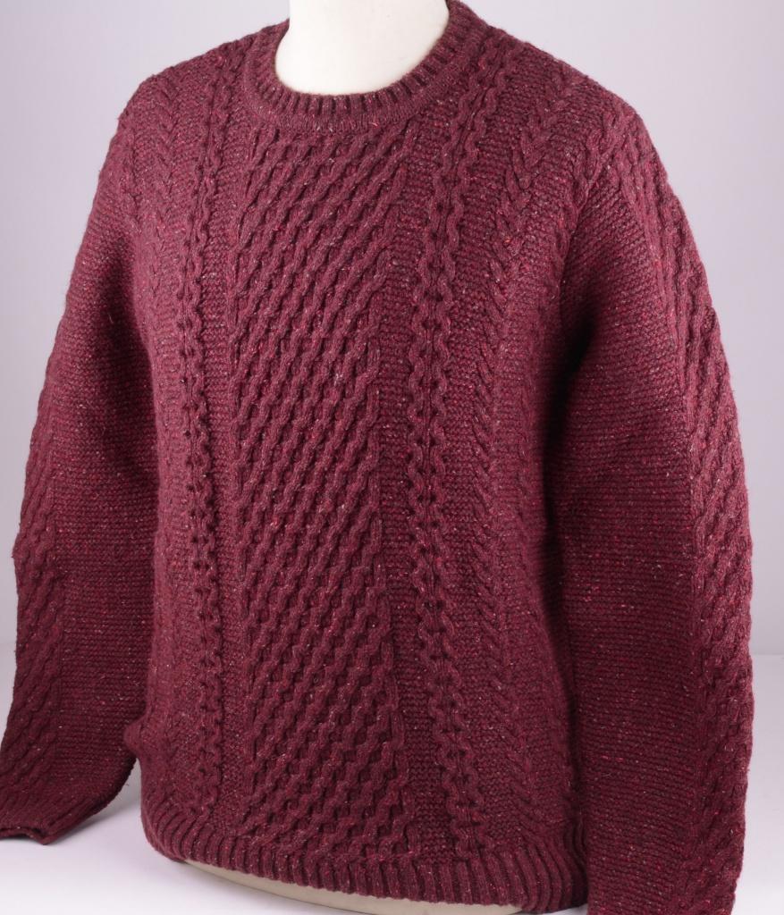 I022272 Sweat Cordovan Wool