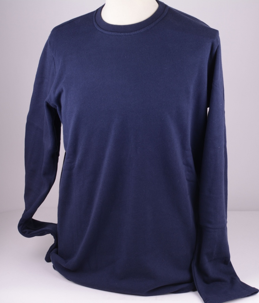 I017227 Navy Terry Sweat