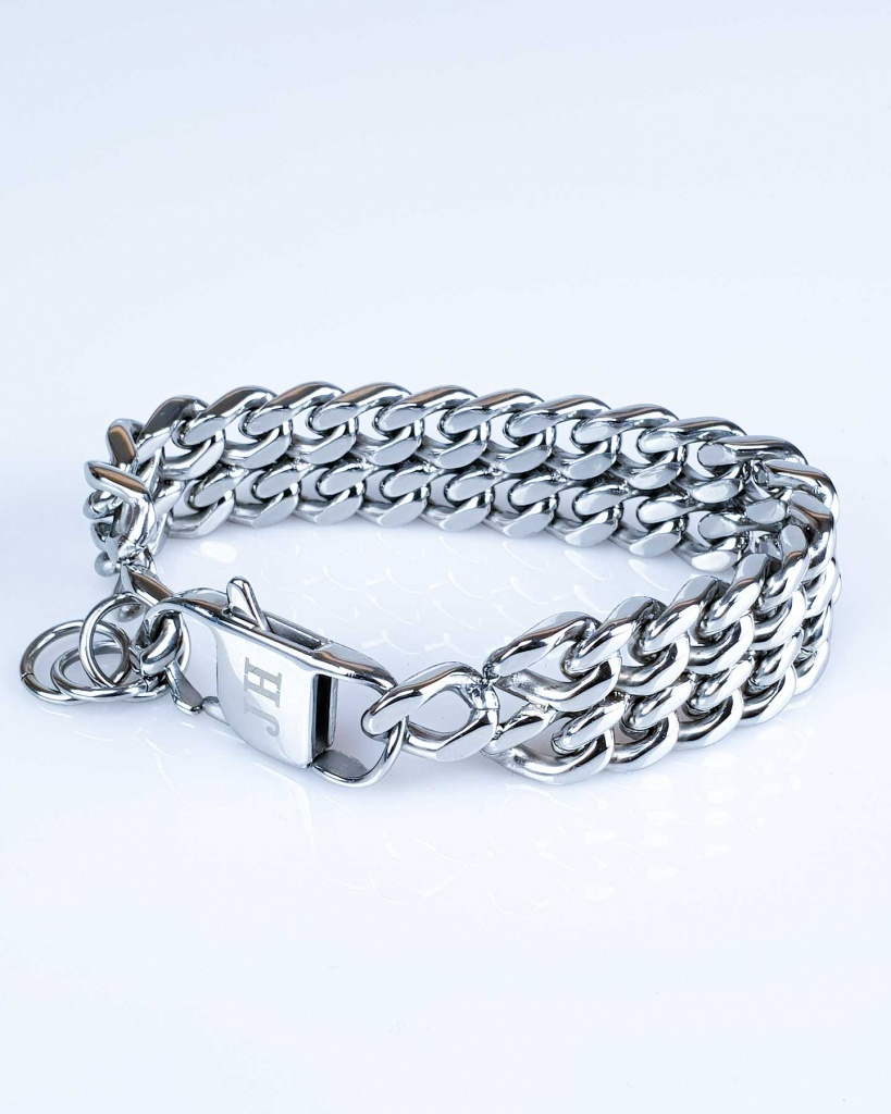 Kaj Silver Armband