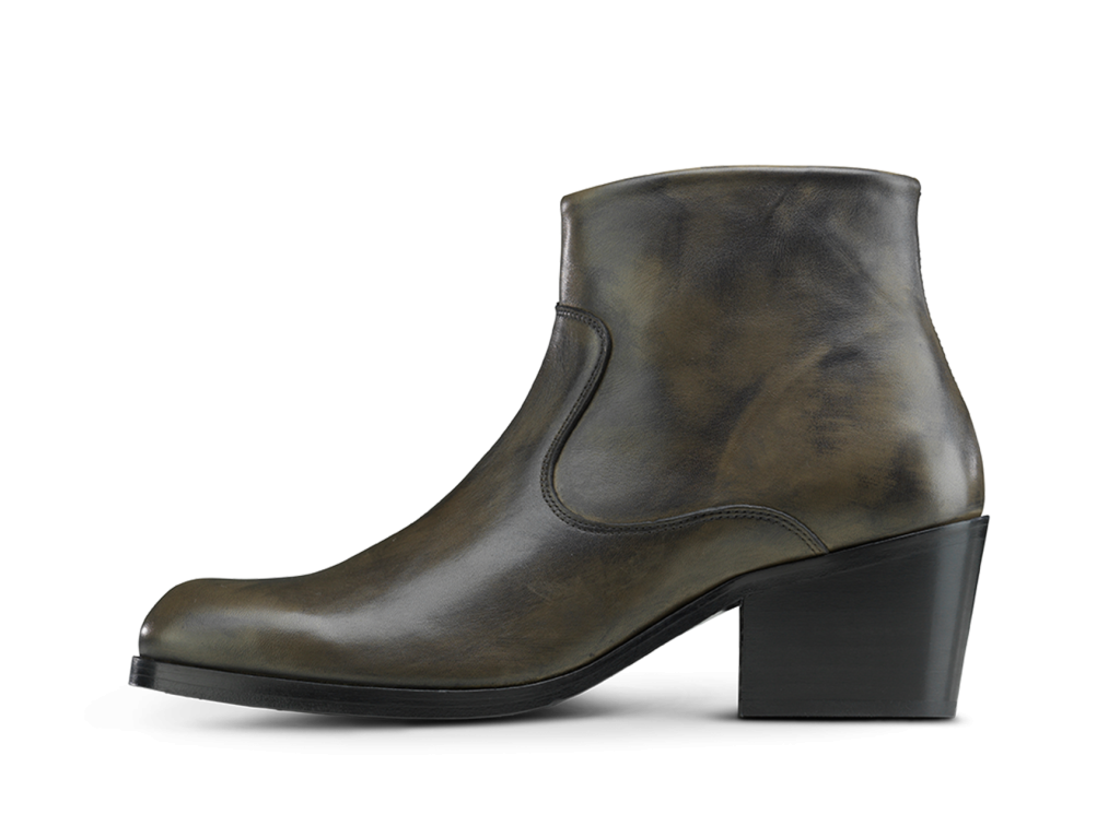 Manero Boots Elephant Green/ Black