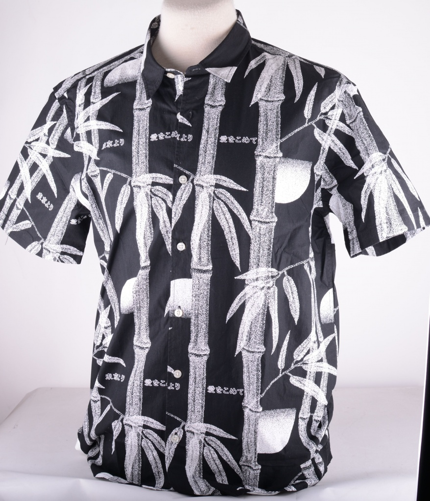 Nimes Shirt Black Bamboo