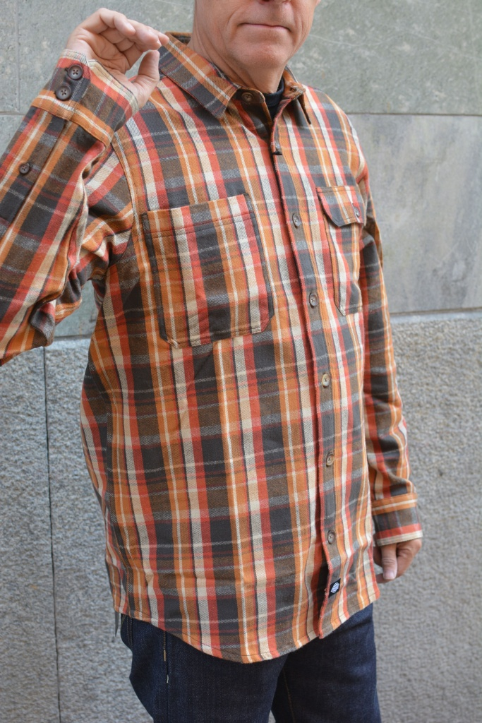 Plesent Hill Shirt Brown/Red