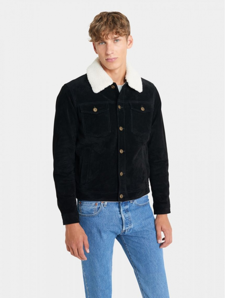 Ranger Black Sherpa Jacket