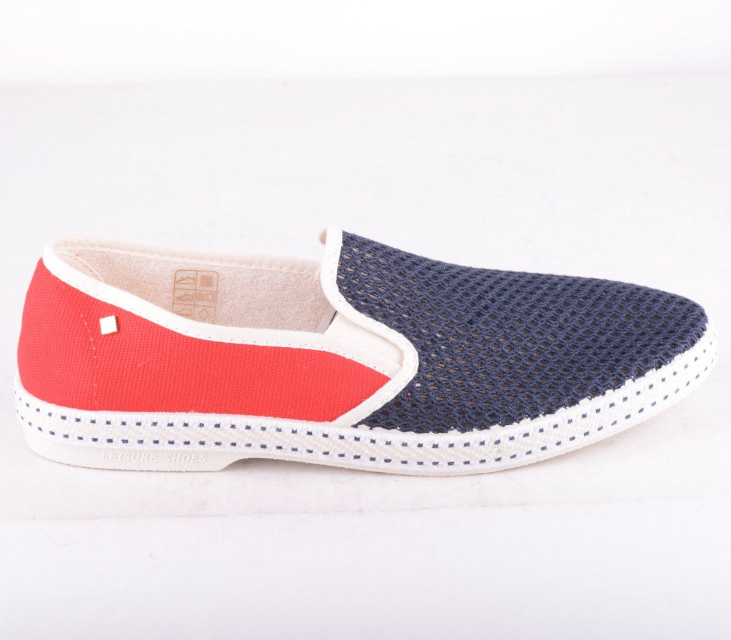 Rivieras Mech Shoe Red/Blue