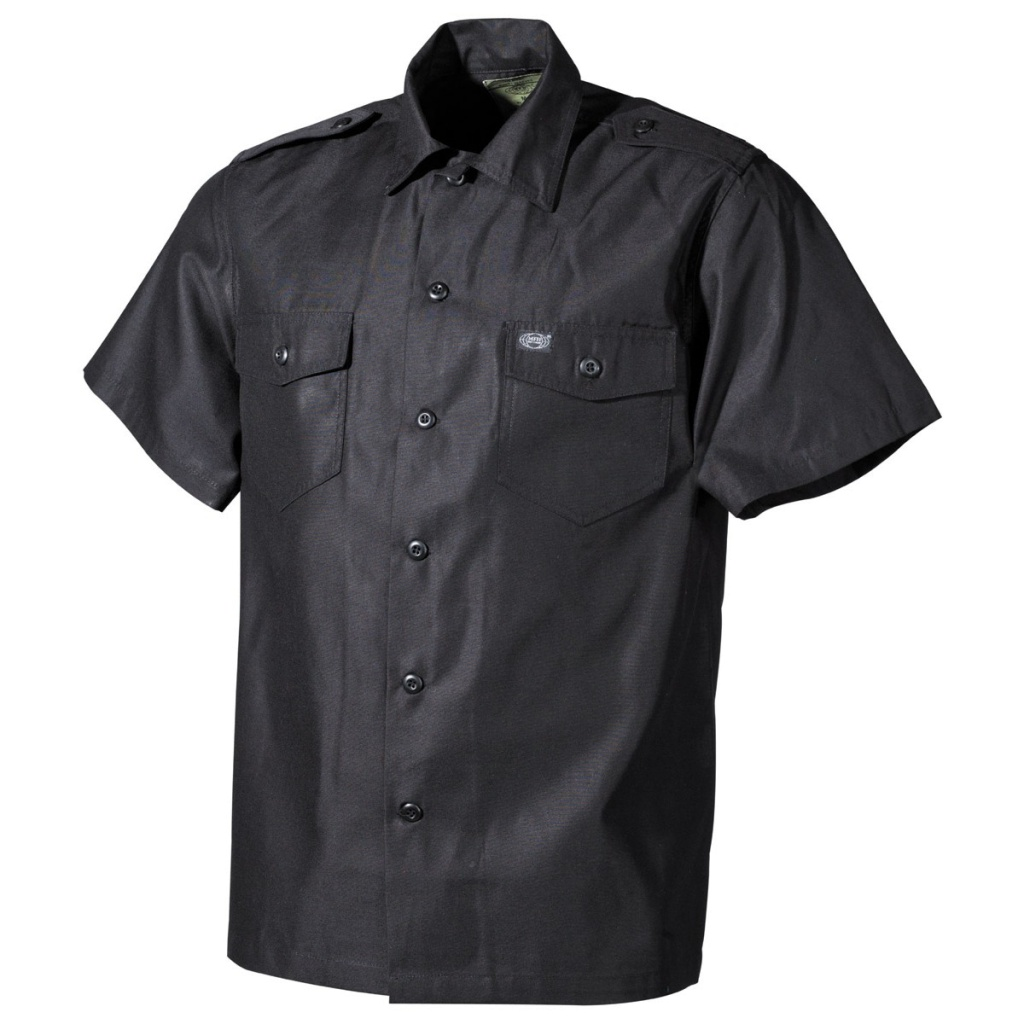 US Shirt s/s  Black