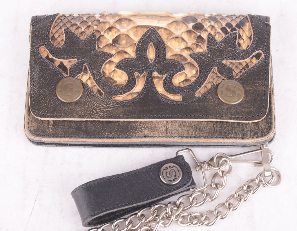 Wallet Tierra Snakeskin Brown
