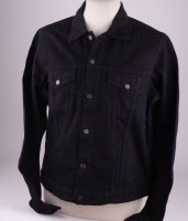 Buddy Black Denim Jacket