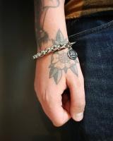 Barney Silver Bracelet