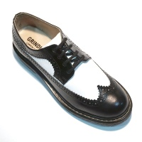 Bertrum Brogue Black Whte