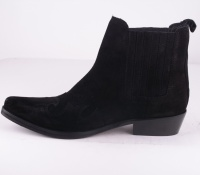 Crocket Black Suede
