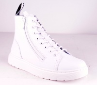 Talib Double Zip White