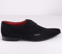 Elviz Black Suede Mygg