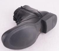 Lace Zip Boot Black