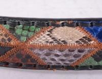 8565 Multi Color Python Belt