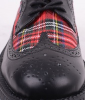 AV9103 Low Creeper Blk/Plaid
