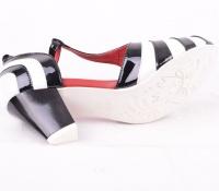 AngieP Cream/Red/Black 412211-44