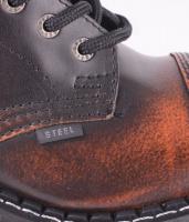 Steel 8 eye Orange/Sv