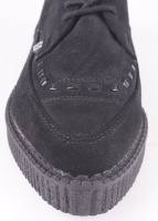 A8138 Pointed Creeper Black Suede
