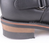 "27862 ""12"" Engineer Boot Black"