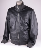 Grant Black Leather