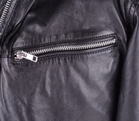 Dexter Black Leather