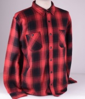 Labour Shirt Red Heavy Flanel