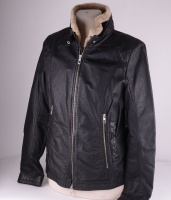 MZ Leather Woman Black