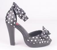 A8853L Starlet Black Polka Dots