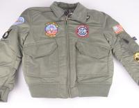 Pilot Jacket Kids Green