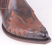 12203 Low Boot Britnes Fl Marron