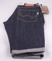 Nashville Red Listed denim Short Unwashed