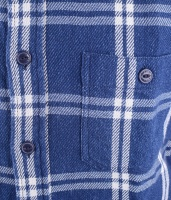 Labour Flanel Shirt Indigo Check