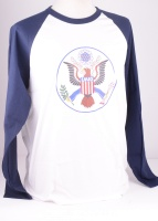 MICC68 Eagle Football Tee Blue/White