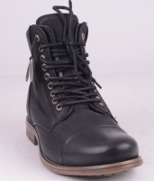 Doverlake Leather Black Vintahe Nubuck