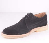 Original City Black Suede Brogue 54