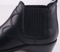 Durango Black Leather