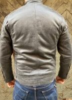 Desert Black Leather Jacket