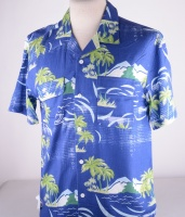 Garage Shirt Blue Island