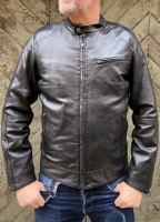 Jake Leather Jacket Black