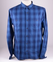 Labour Flanel Shirt Indigo Check