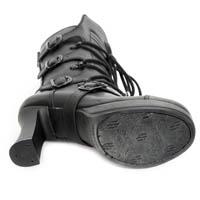 Goth5815-S2 Crust Negro Zip