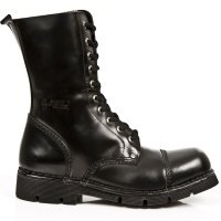 10eye Zip Boot Black